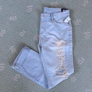 GAP NWT Sexy Boyfriend jeans